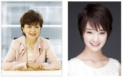 左は特別審査員の内館牧子さん、右は「看護の日」PR大使の剛力彩芽さん